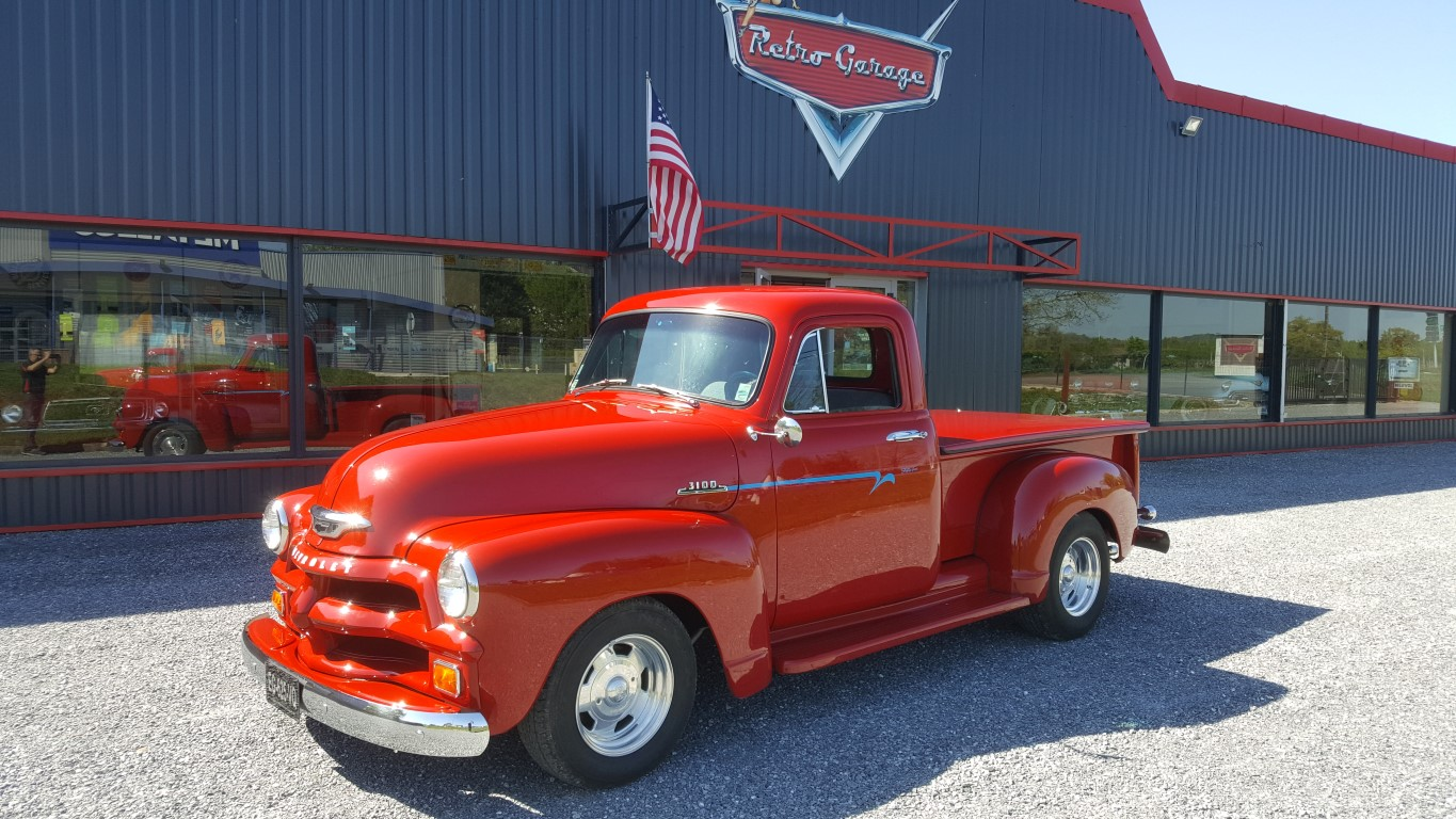 Chevrolet 3100 pick-up 1954